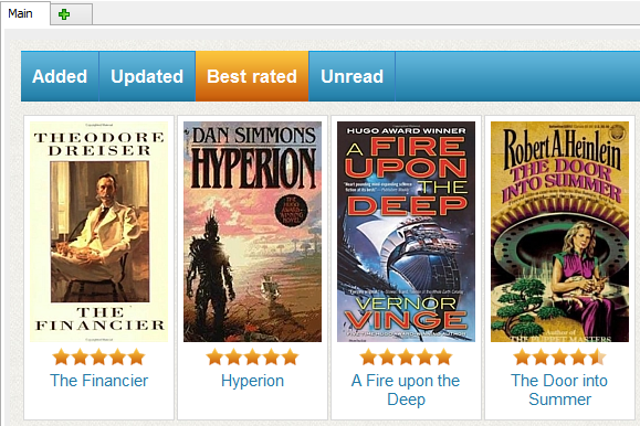 book rating site